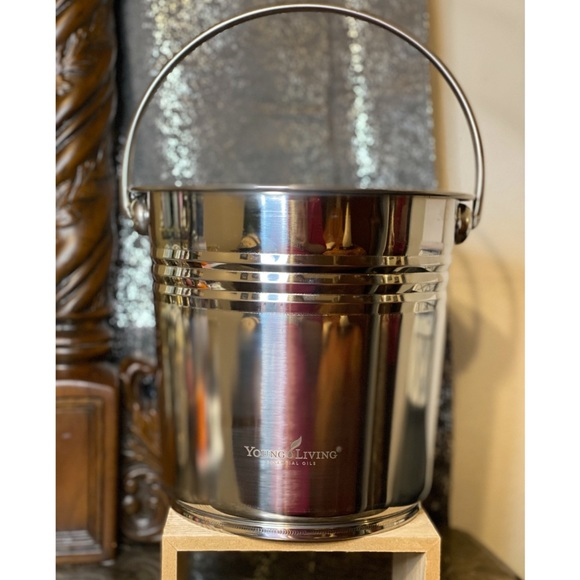 Young Living Stainless Steel Bucket